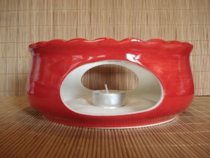 Warmer ceramics, red