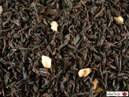Black Tea Almond-Cream