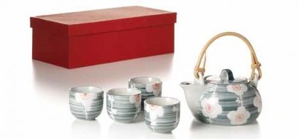 "Tea Set ""Cataleya"""