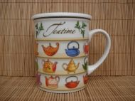 Herb Tea Mug &quot;Teapots&quot;