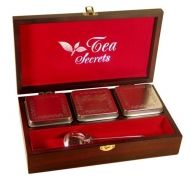 "Gift Set ""Tea Secrets"" + 3 tea boxes"